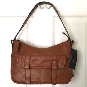 Tommy Hilfiger Vintage Leather Saddle Bag Armpit
